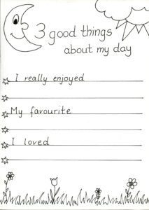 3 positive things about my day