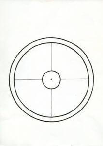 Blank mandala templates