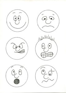 Emotions stickers