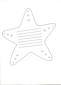 "Resource for children: ""Simple Act of Kindness"" Template Starfish"